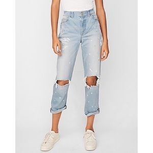 [Express] High Waisted  Ripped Original Jeans